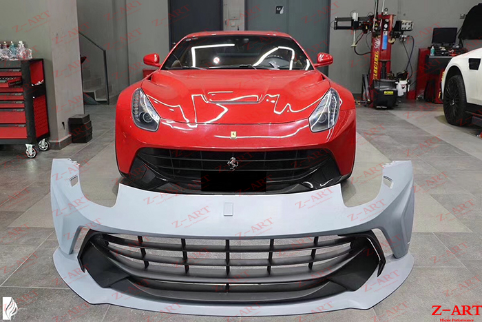 Z Art Wide Body Kit Für Ferrari F12 Berlinetta Breite Tuning Körper Kit Für Ferrari F12 Berlinetta Breite Aerodynamische Körper Kit Bodykits Aliexpress