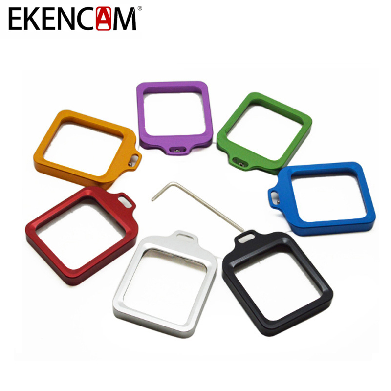 EKENCAM 6 Colors CNC Alluminum Alloy Lens Ring With Tool For Gopro Hero 3+ Waterproof Protective Case Action Camera