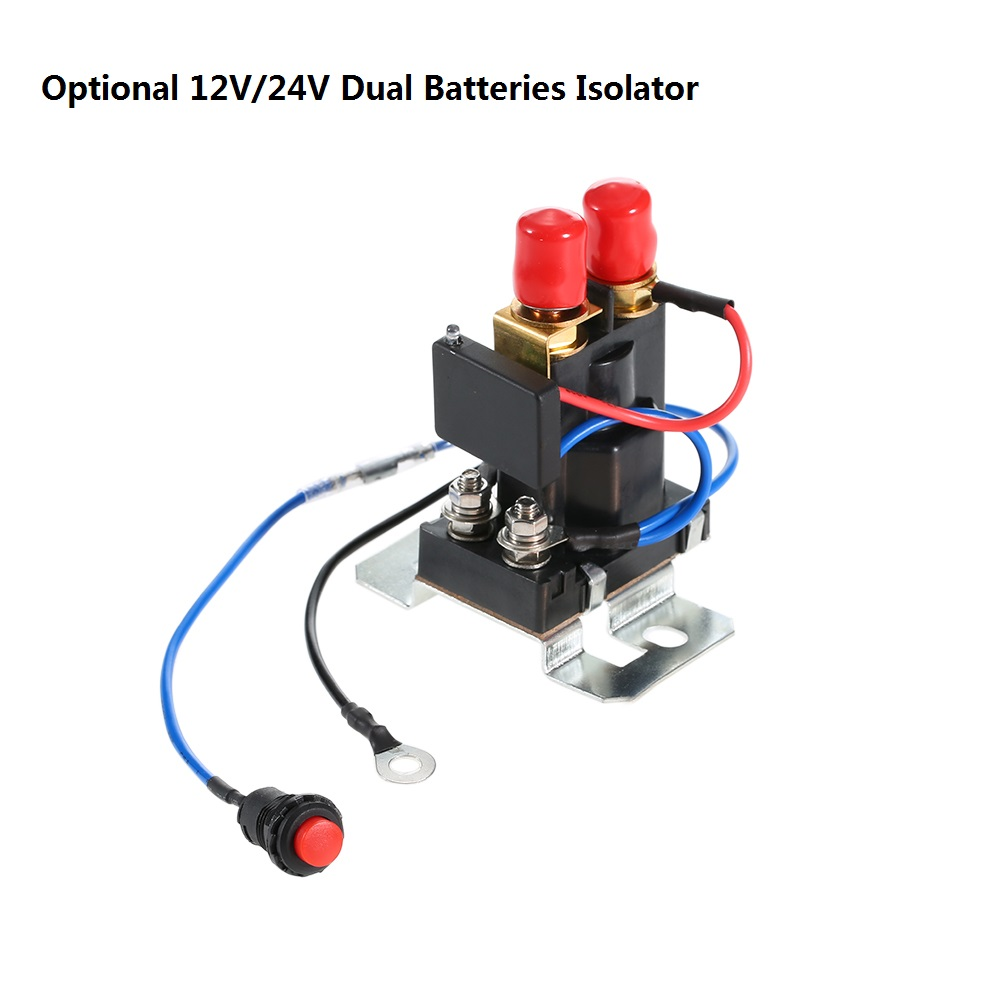 Dual Batteries 200A 12V/24V Auto Increase Relay Battery Isolator for Multi-battery system Automotive Tricycle Electric Car 2015 new arrival 12v 12volt 40a auto automotive relay socket 40 amp relay
