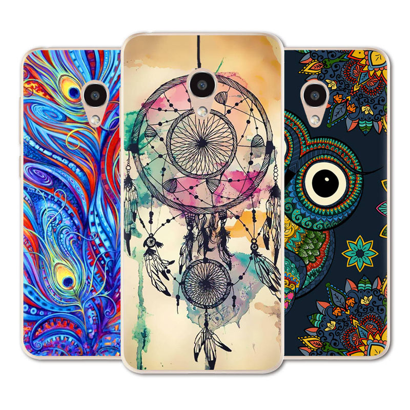 New Phone Case For Alcatel 1C / 1X / 3 / 3C / 3V / 3X Fashion Design Art Painted TPU Soft Case Silicone Cover Case