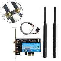 Dual Band 2 4G 5G Wireless AC 867Mbps WiFi Bluetooth 4 0 PCI E X1 X4
