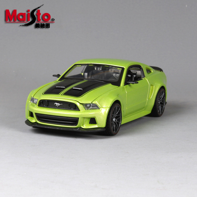 Maisto Alloy Car Models  Ford Mustang Gt Boss  Classic Car Modified Simulation