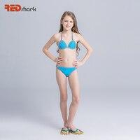 REDshark 2017 Summer dzieci Strój Kąpielowy Dwuczęściowy strój kąpielowy Bikini Zestaw Dla Dzieci Śliczne Kostiumy kąpielowe dla Dzieci Swim Wear