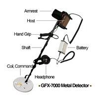 GFX7000 Super Sensitivity Metal Detector Treature Hunt Long Range Deep Gold Hunt Mining Finder Pulse induction GFX 7000