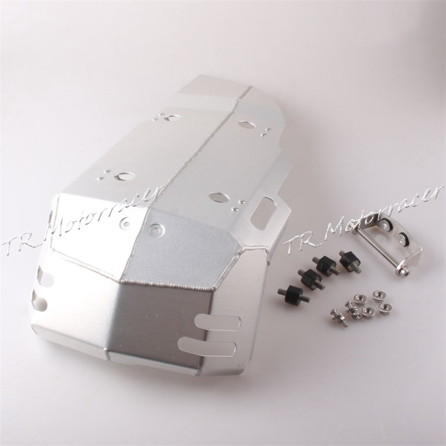 Skid Plate Engine Protector Bash Guard For BMW F650GS F700GS F800GS 2008-2013 Silver Motorcycle Parts high quality for bmw r1200gs 2013 2014 2015 motorcycle upper engine guard highway crash bar protector silver