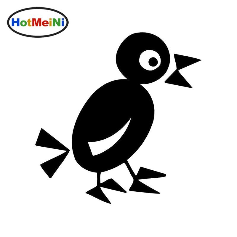 ̿̿̿(•̪ )Hotmeini lindo pájaro alegre pájaro enojado coche etiqueta ...
