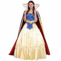 Cosplaydiy Custom Made Luxury Snow White Princess Dress Costume Women Wedding Party Dress