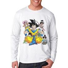New Arrival Men T Shirt Dragon Ball Monkey King Printing Man T-Shirt Long Sleeve Cotton Mens Clothing Hipster Tops Tee Shirts