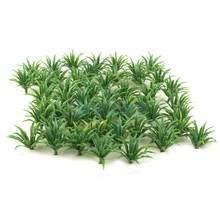 MagiDeal 50 adet 1:100-1:200 ölçekli Model zemin örtüsü bitkiler bahçe tren modeli yapı Diorama sahne düzeni