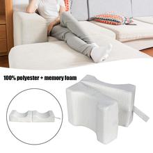 Dual-use Air Layer Leg Pillow Can Be Unfolded Memory Cotton Pillow Maternity Shaping Leg Pad Relieve Back And Hip Pain цена 2017
