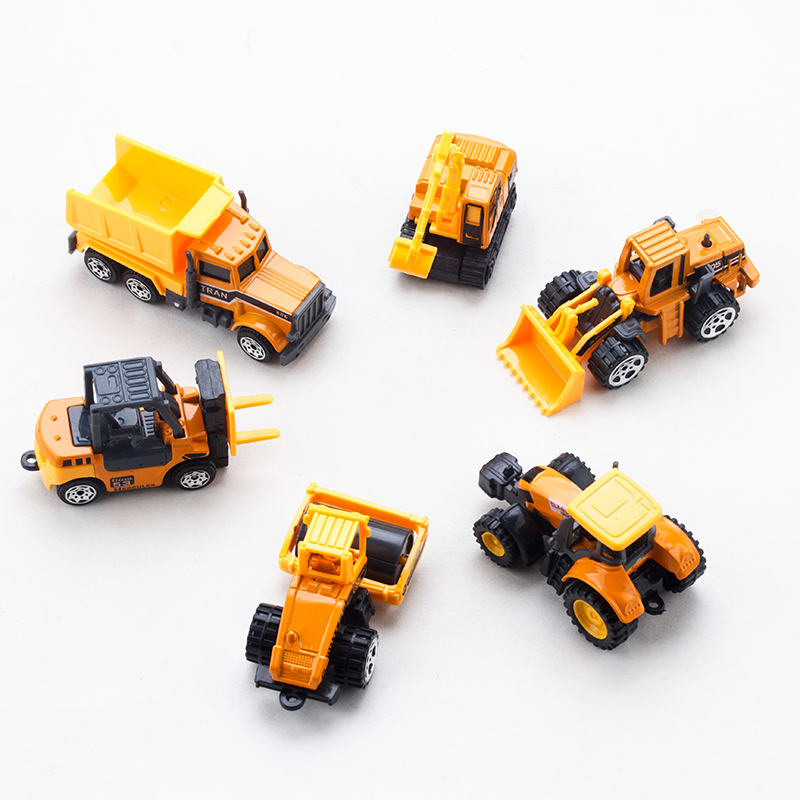aliexpresscom buy 6 styles car toy diecast mini alloy construction vehicle engineering car dump car dump truck model children classic toys from reliable