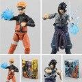 Caliente! nuevo 15 cm Naruto movable Uchiha Sasuke Uzumaki Naruto figura de acción de juguete navidad regalo de la muñeca