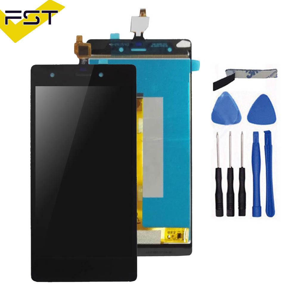 Good Quality For Wiko Pulp 4G LCD Display + Touch Screen digitizer Assembly For Wiko Pulp 4G Free Shipping with Tools