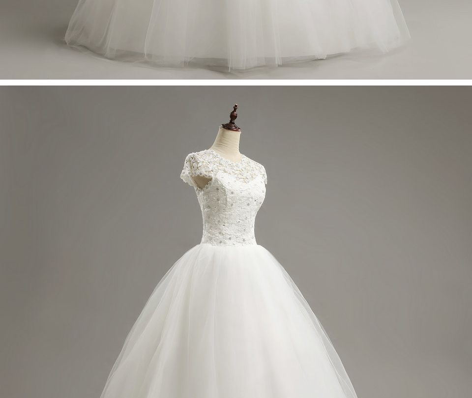 12  LAMYA Custom Size Romantic Lace Wedding Dress 2018 Fashionable Short Bride Gowns Cheap Bridal Dresses vestidos de novia