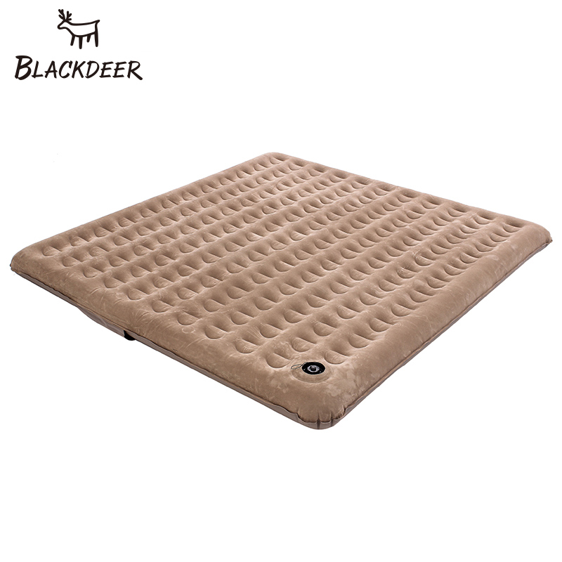BLACKDEER Air Mattress Inflatable Bed Tent Portable Sleeping Pad Flocking Moistureproof Waterproof Outdoor Thick Camping Mat