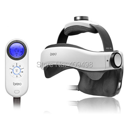 Breo iDream1168 air pressure vibration far infrared ray adjustable music head massager