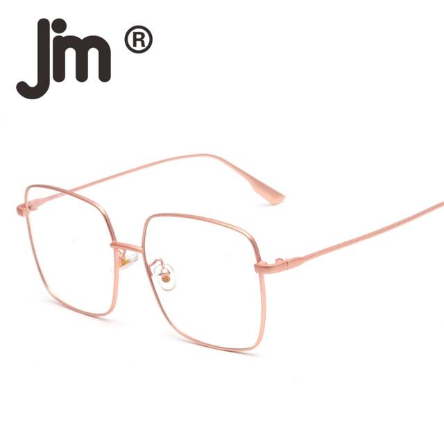 017afea6a43a JM Fashion Vintage Square Rx-able Eyeglasses Metal Wire Optical Glasses  Frame for Men Women