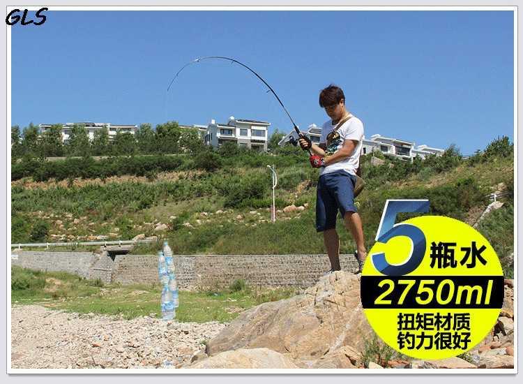 2019 nouvelle ligne de canne à leurre poids: 6-12LB 2 pointe de canne à pêche filature M actions 3-21g leurre poids coulée leurre canne à pêche