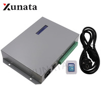 T 300K T300K SD Card онлайн полный Цвет RGB светодио дный контроллер для Пиксели ws2812 ws2811 ws2801 Светодиодные ленты