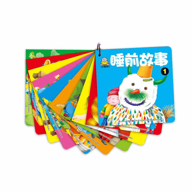 Chinese Mandarin Short Stories Books Set For Kids Baby Age 0-3 Chinese Pinyin Characters Pictures Bedtime Story Book ,set Of 10