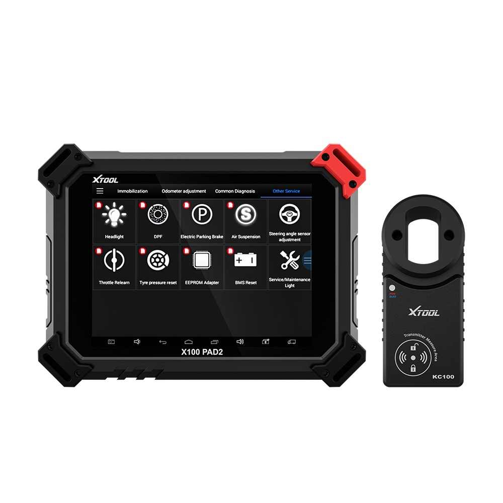 X100 PAD2 OBD2 Diagnostic Tool with 4th and 5th Immo auto Key programmer All Special functions for most of the car models