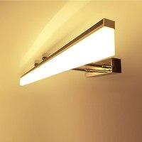 40CM 60CM 80CM 100CM 120cm Longer LED Mirror Light Modern Cosmetic Acrylic Wall Lamp Bathroom Lighting