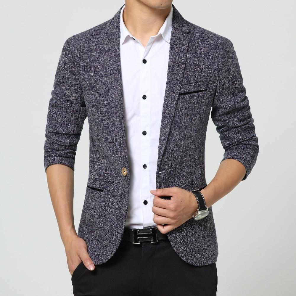 366e73746c1c ⊱Nueva hombres cantantes moda Lino vestido marca traje chaqueta ...