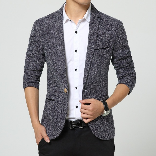 f6c3a3c9e181 new men singers Fashion dress linen suit jacket brand clothing Men's casual  suits Korean Slim small Western singers dress