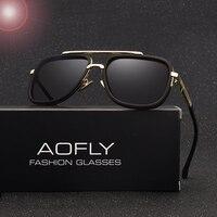 AOFLY New Fashion Men Polarized Sunglasses Male Brand Design Polaroid Lens Luxury Sun Glasses High Quality