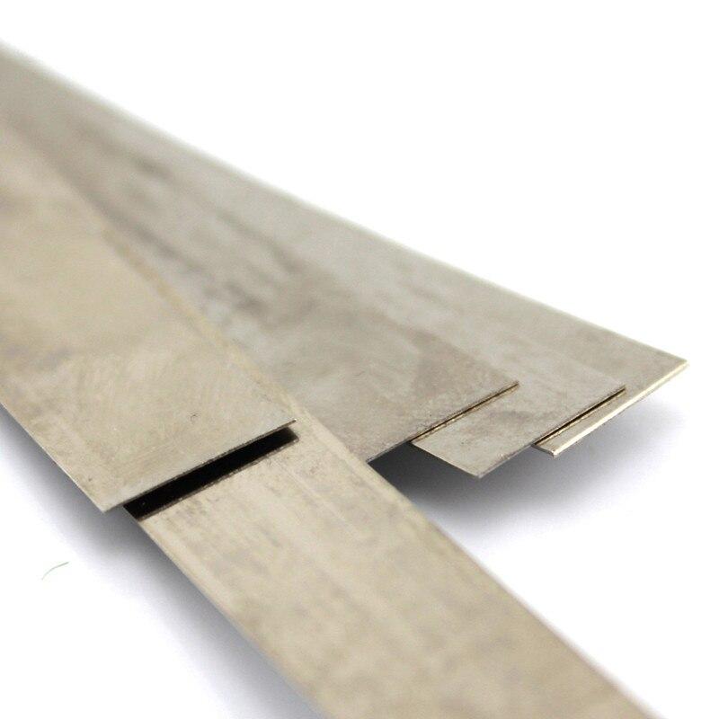 1 unid J601b 1,3*14 cm de acero hoja de primavera Rusia envío ...