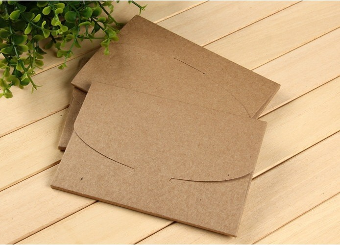 Kreative Sobres Handwerk Papier Schwarz Braun Kraft Umschläge Hochzeit Einladen Umschläge Handgemachte 50 Teile/satz/paket Papier/großhandel Post- & Versandmaterialien