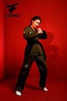 Basic Standard Taekwondo uniforms Simple design Tae kwon do long sleeves cotton Taekwondo training clothes for promotional