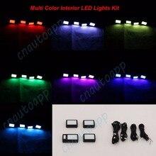 Multi-Color Pro Interior Lighting Kit Cotton LED SMD Seats Light For Car SUV