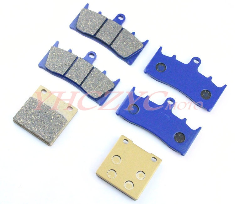 For SUZUKI GSF1200 01-05 motorcycle front and rear brake pads set Motorcycle Parts motorcycle parts front