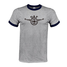 6e1b5b39fbd DAF Trucks hombre Camiseta Raglan marca ropa coche marca Logo Homme camiseta  hombres ropa Alta Calidad Algodón top camisetas env.