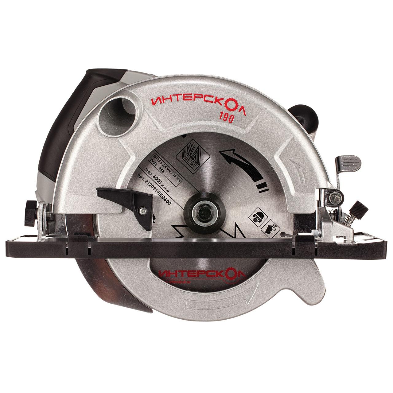 Circular saw Interskol DP-190/1600M цена