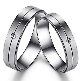 Gift sweetheart simple silver rings couple Switzerland ring silver