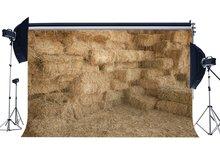 Ancienne grange toile de fond paille botte de foin arrière plans automne récolte intérieur ouest Cowboy turquie ferme fond
