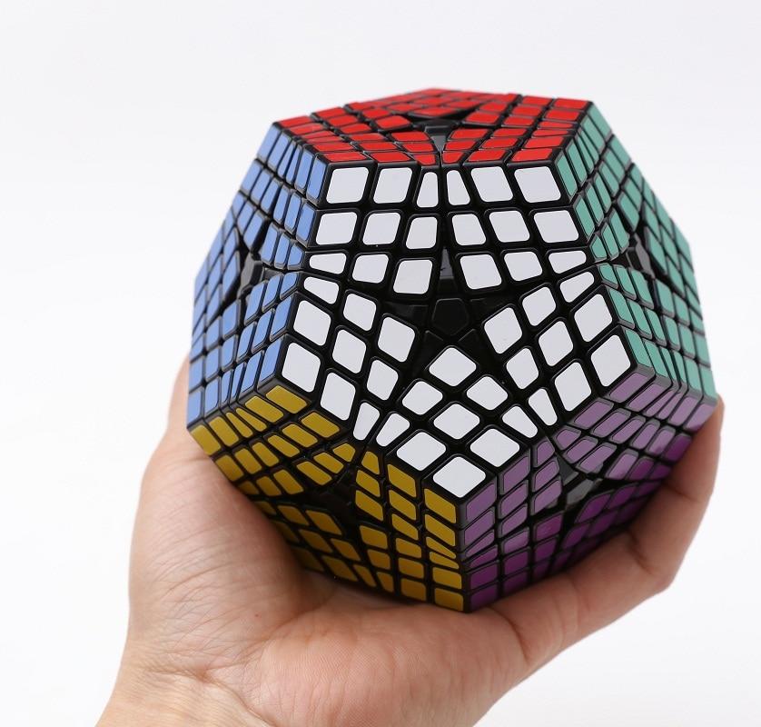 Newest Shengshou Elite Kilominx Cube 6x6 Megaminx Magic Cube Puzzle Learning Educational Cubo magico font b