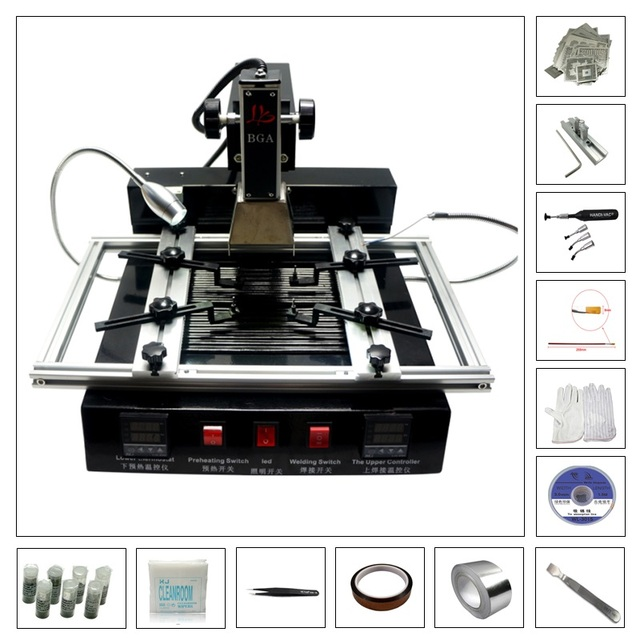 BGA soldering kit M770 rework station with 810 pcs directly heating and free BGA tools accessories