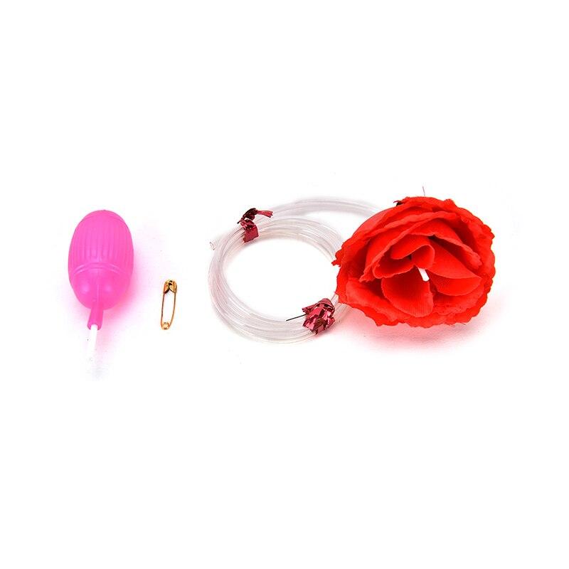Beautiful 1 Pcs Magic Water Squirt Rose Clown Flowers Trick Funny Joke Prank Toys Always Buy Good Festive & Party Supplies