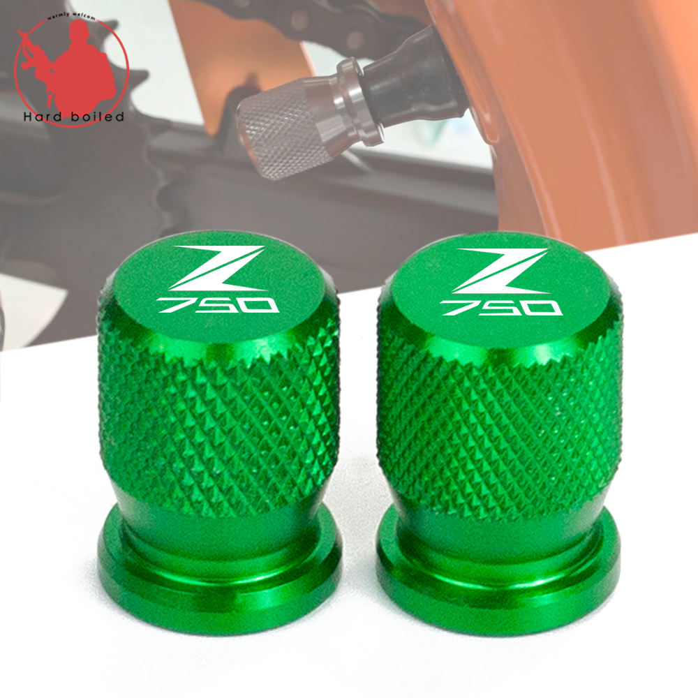 For <font><b>KAWASAKI</b></font> Z750 Z650 Z800 <font><b>Z</b></font> 750 650 <font><b>800</b></font> Motorcycle Accessorie Wheel Tire Valve Stem Caps CNC Airtight Covers image