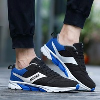 OUTAD Winter Comfortable Men Sport Running Shoes Cotton Men Male Anti Slip Rubber Sole Walking Sneakers
