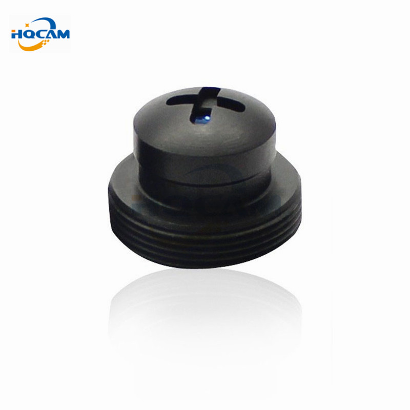 HQCAM Black metal 3.7mm Covert Screw effect 3.7MM Lens for CCTV Camera mini camera 3.7mm lens Mount of M12x0.5