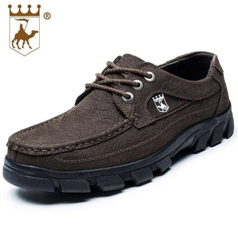 D'affaires Anti Size38 brown En Randonnée Black Couche dérapage L'usure Occasionnels Cuir Hommes 47 Qualité À De Chaussures Backcamel Résistant Chaude Haute Première WUBn7xq1p0