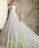 Ball Wedding Dress Princess 2019 New Sweetheart Long Elegant Wedding Gowns Lace Dresses For Brides Floor Length
