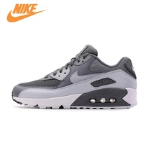 Original New Arrival Official NIKE Men's AIR MAX 90 ESSENTIAL Breathable Running Shoes Sneakers Trainers