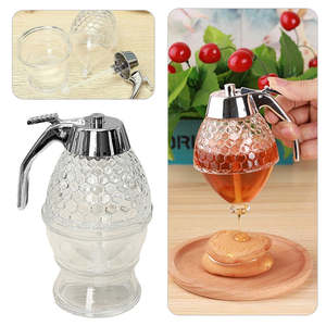 Syrup Dispenser-Pot Honeycomb-Bottle Bee Mini Cup 200ml Juice Portable