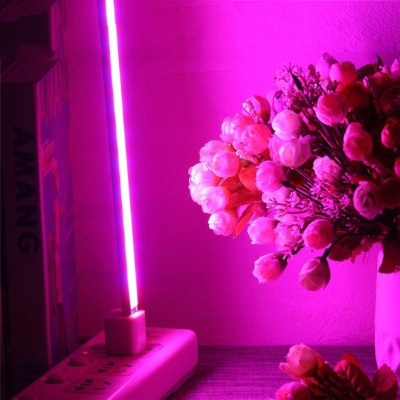 Usb Led Planta Crecimiento 5 V 2,5 W Lleno Espectro Luces Flor Planta Phyto Crecimiento Lámparas De Efecto Invernadero Hidropónico Planta
