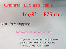 100pcs/ New box 100% Genuine Original E75 Chip 1m/3ft Data USB charger Cable for Foxconn iphone X 8 7 6 6s plus green label